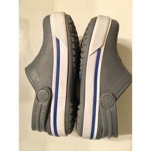 ⭐️ Boys (Toddler) Crocs Shoes Gray White Sandals